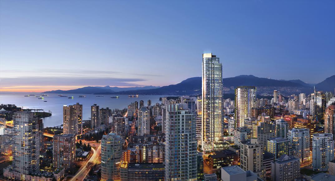 Rendering Of Skyfront At Burrard Place Presale Condo