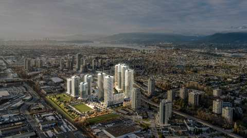 Rendering Of Concord Brentwood Towers