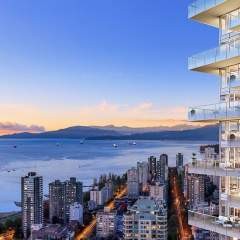 1135 Howe water view condo building in vancouver downtown