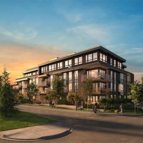 Amber Move in Condo Development in Vancouver's westside
