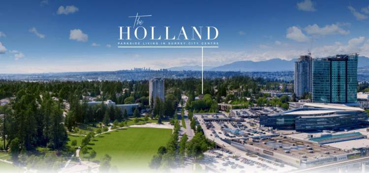 The Holland new condo development in surrey