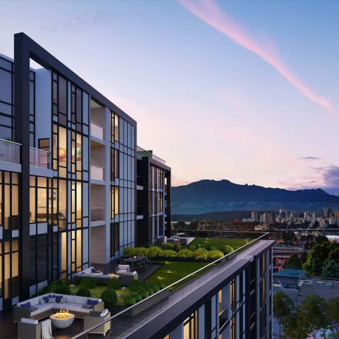 The Granville In Vancouver Render