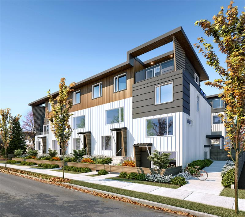 Esams Condo Interior Design Vancouver: Mount Pleasant Townhomes Inspired By