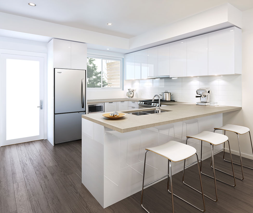 Mount Pleasant Townhomes Inspired By