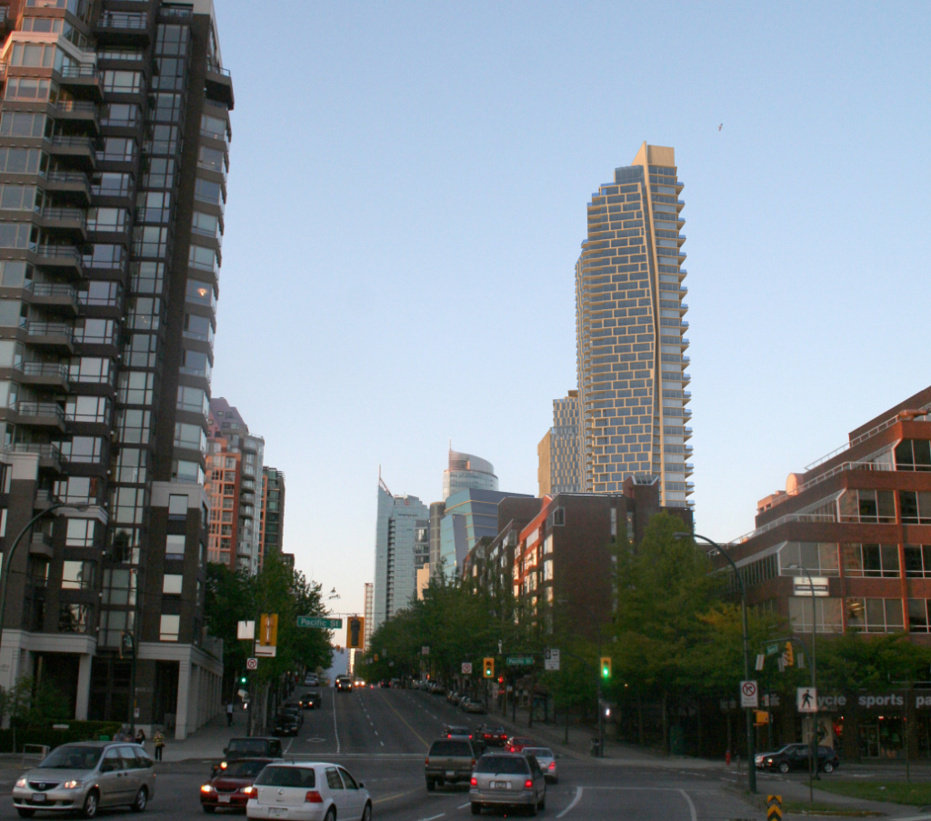 Downtown Vancouver: Burrard Place (Formerly Burrard Gateway)