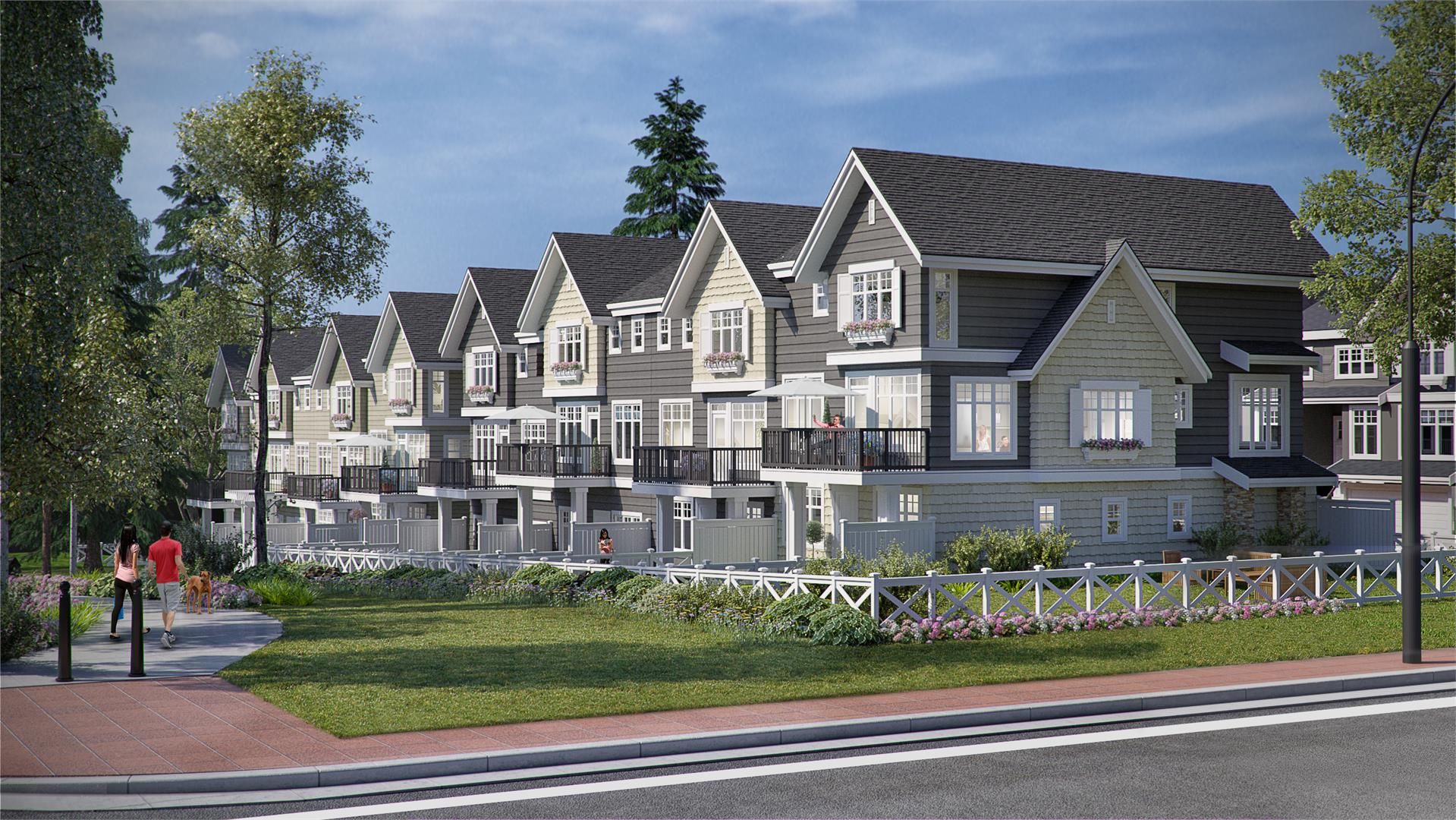 CREST Townhomes By Essence