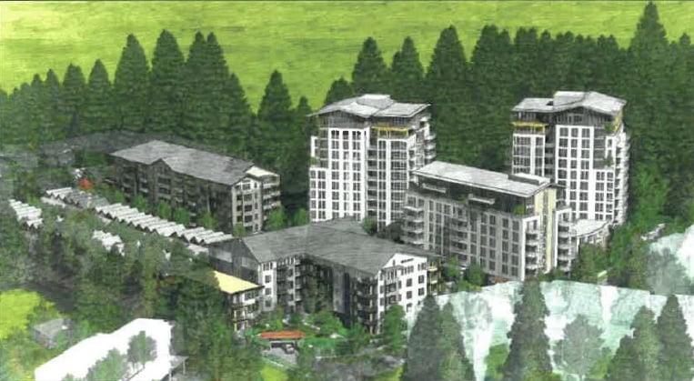 Emery Village In Lynn Valley