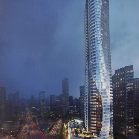 New Downtown Vancouver Condos