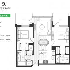 1209 River Park Place II Floor Plan