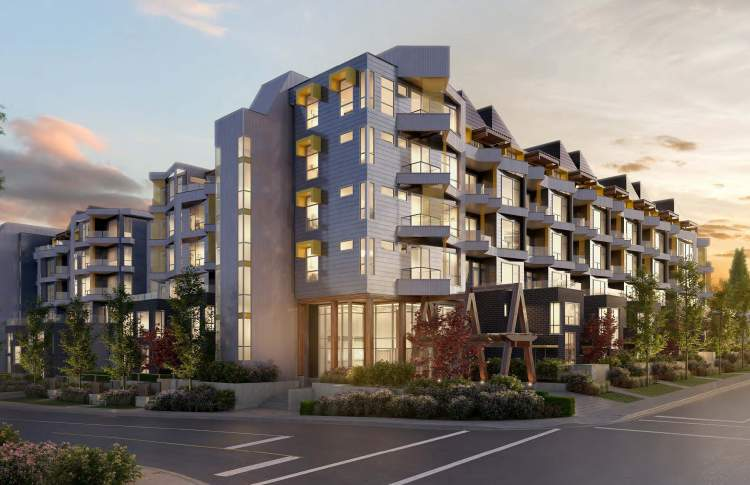 Court condo building render Preview