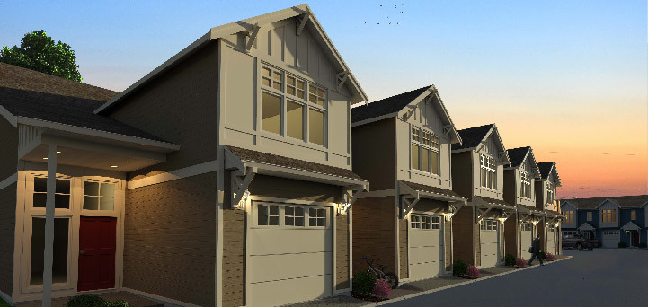 Cambridge Estate Fort st john townhome development