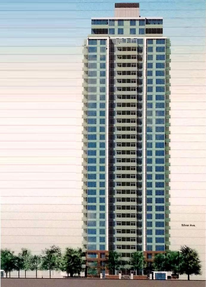 Maywood Elevation high rise tower render