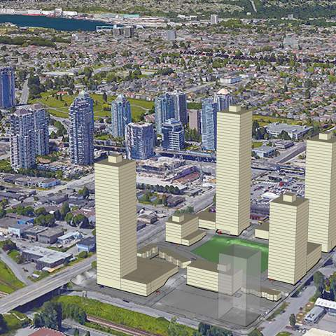 Aoyuan-Dawson-Street Rendering Near Brentwood Town Centre Skytrain