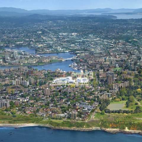Capital-Park-residences condo development bird eye view