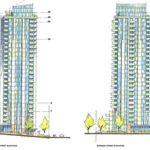 The Thurlow High Rise Towers By Intracorp In Downtown Vancouver