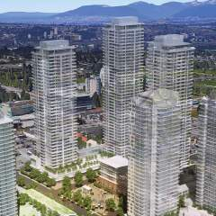 Georgetown One rendering Surrey