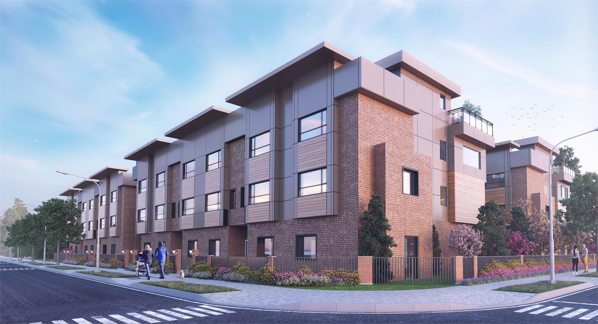 Winston Terraces Condo Development In Langley