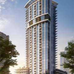 Rendering of Apex 32-storey high-rise