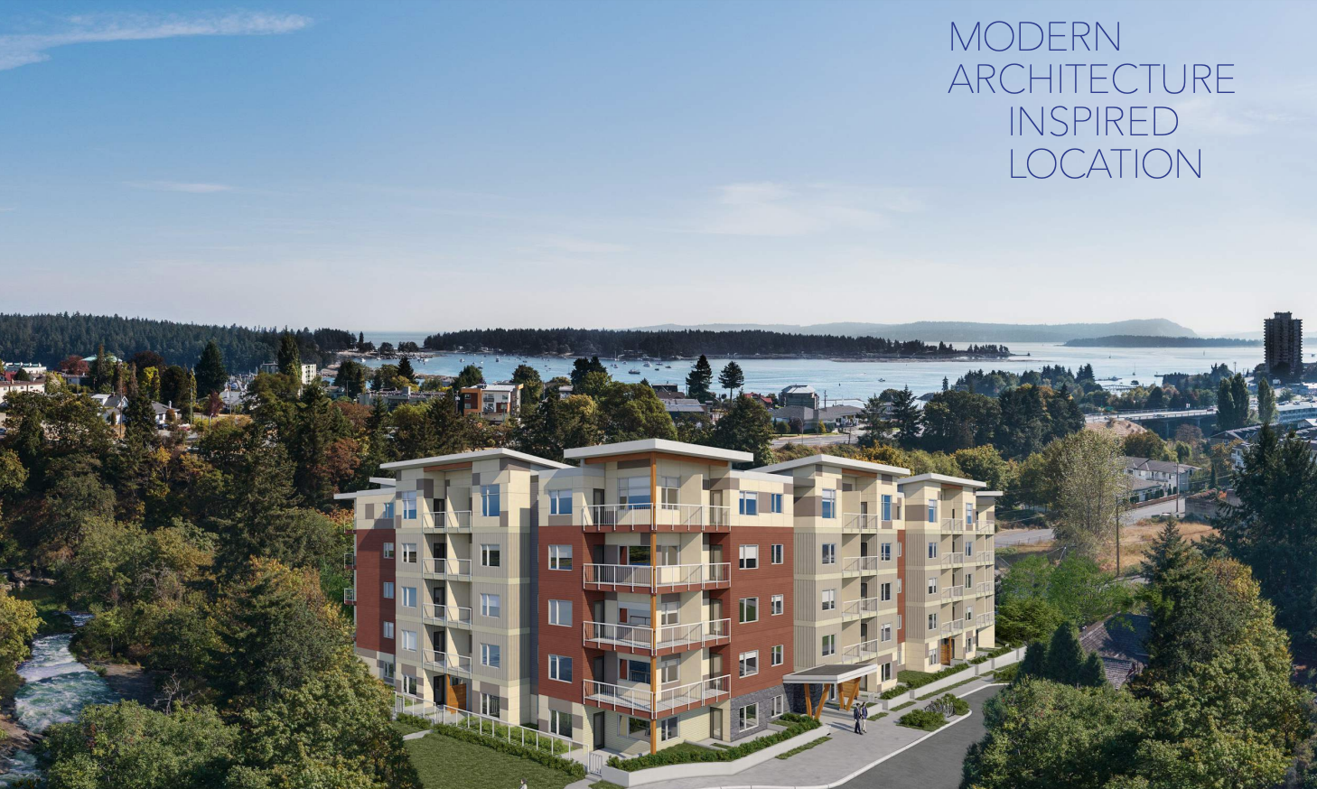 New Condo Development Riverstone Place In Downtown Nanaimo