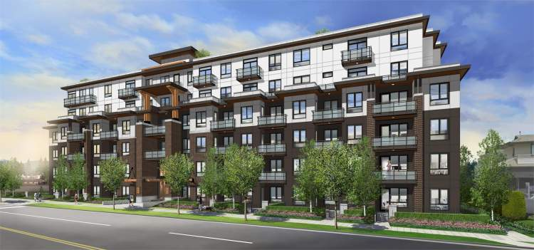 Vista In Burquitlam Condo Building Rendering