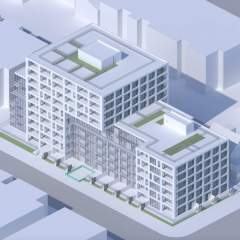 Eastward by intracorp condo building rendering