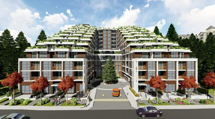 Rendering of 3000 Henry development in Port Moody