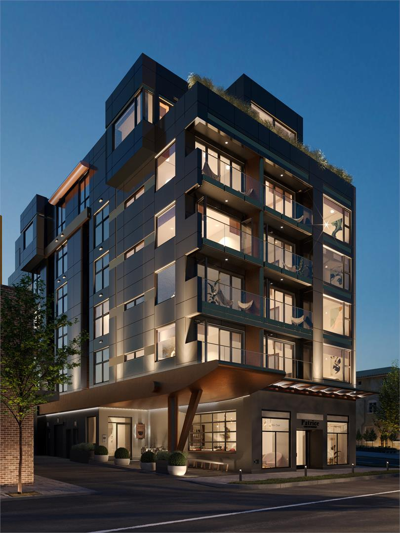 Grand In Mount Pleasant New Condo In Vancouver Night View