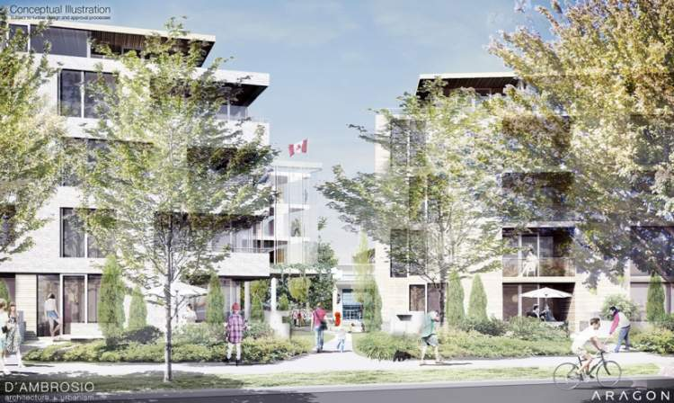 Esquimalt Town Square South BC Presale Condo
