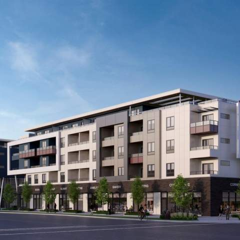 Amson Suqare In Surrey New Condo Building