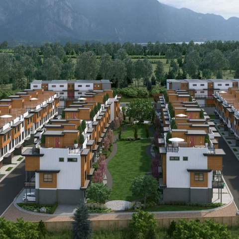 Breeze Squamish Townhouse Render