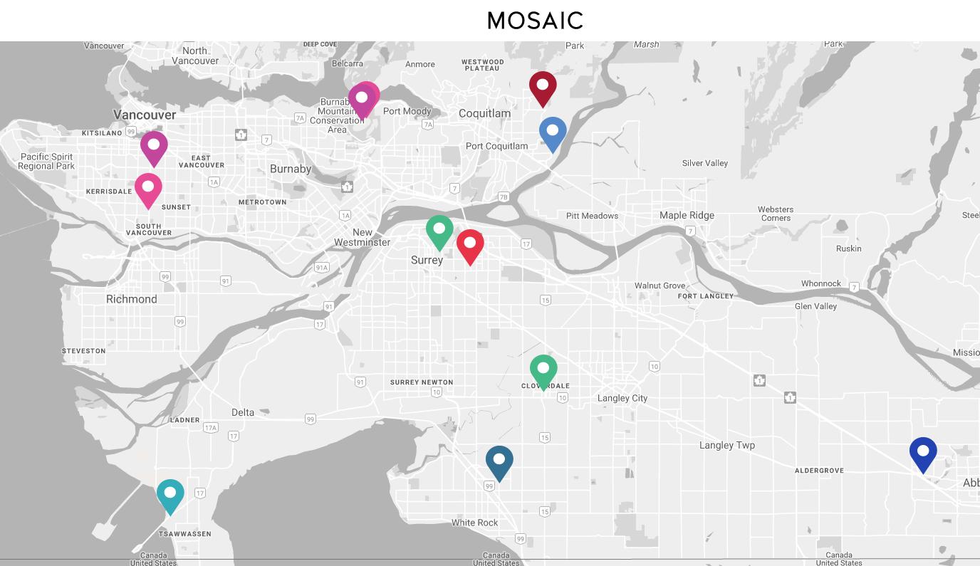 Mosaic Map