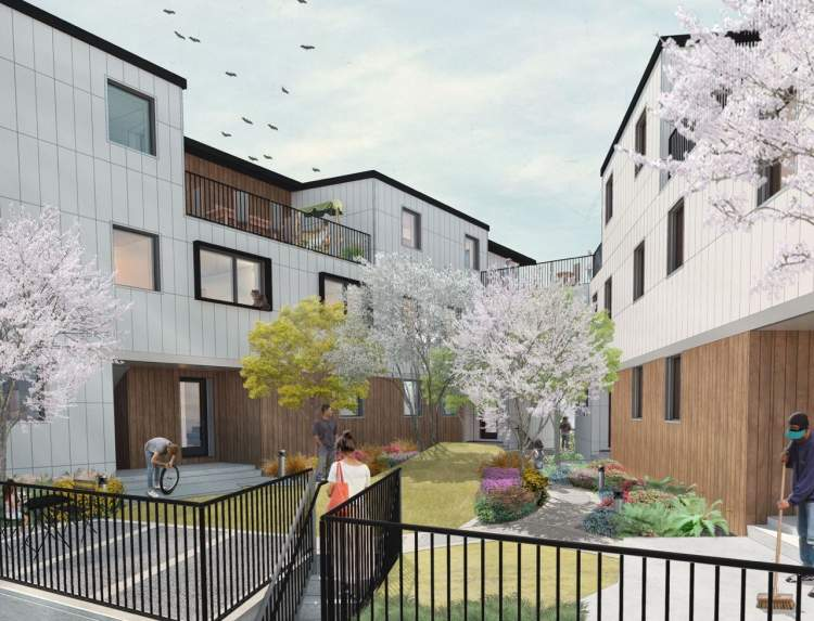 Tarsem Haus Townhouse render in Squamish