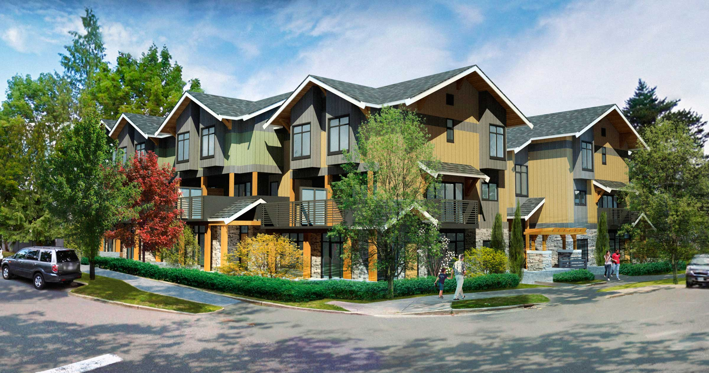 Element1 Townhome Burnaby BC Canada