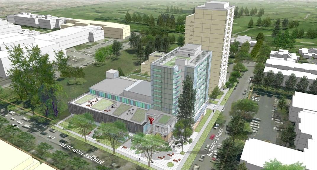 Langara YMCA New White Condos Building
