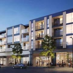 452 East Broadway Dusk Vancouver New Condo development