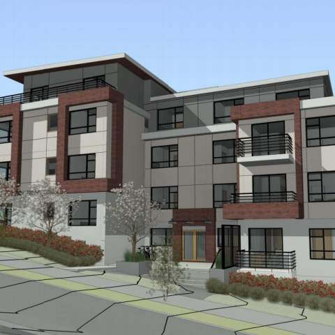 4715 Nanaimo Street 4 Storey Condo Building Render