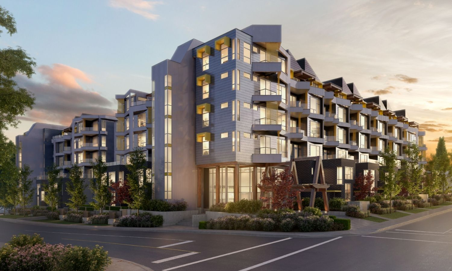 Court New Development Abbotsford Condos Presale