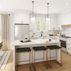 Reunion Murrayville rendering of kitchen