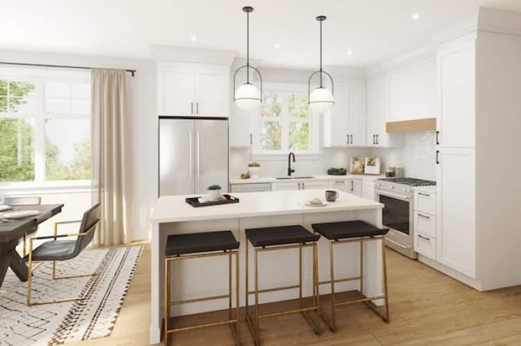 Reunion Murrayville rendering of kitchen