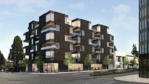 16th & Cambie 6-storey Building Located On Vancouver's Westside Presale