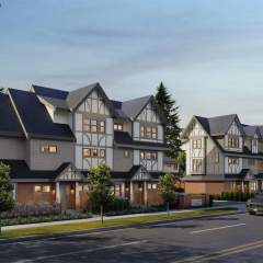 Diamond Steveston Townhouse development design in Richmond
