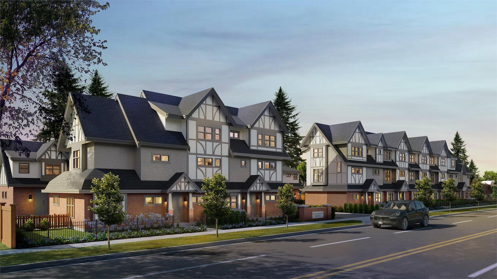 Diamond Steveston Townhouse Development Design In Richmond