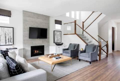 Fern Grove Maple Ridge Living Room