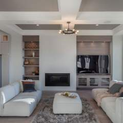 Aura 2 Burke Mountain New Development rendering living room