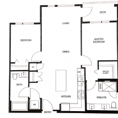 Floor plan image for assignment condo presale