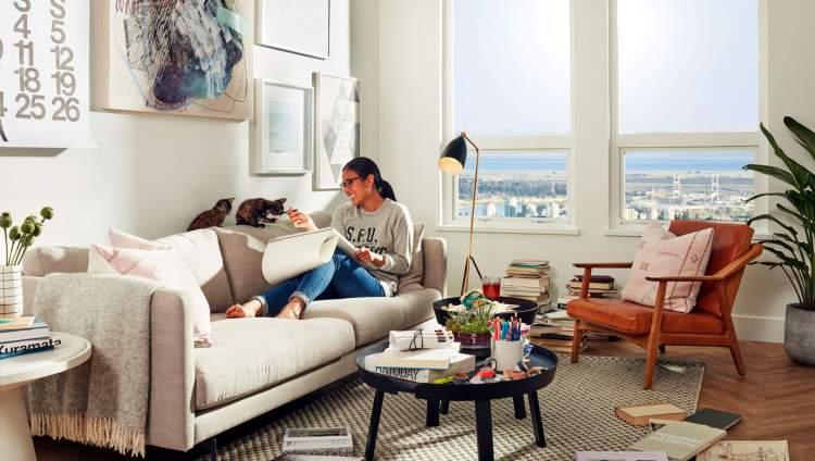 Hamilton Burnaby New Condos Living Room Layout