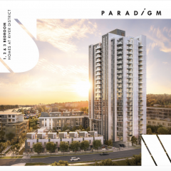 Paradigm By Wesgroup New Building at River District photo