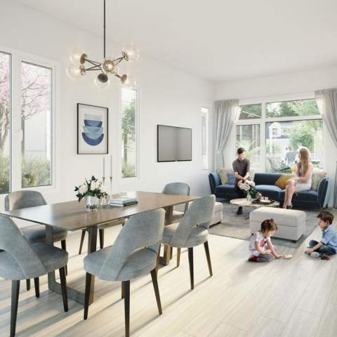 Elina On Eighth Townhomes | New Westminster