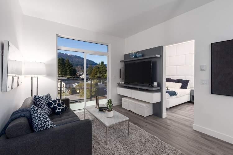 Vista in Coquitlam new condos living room photo