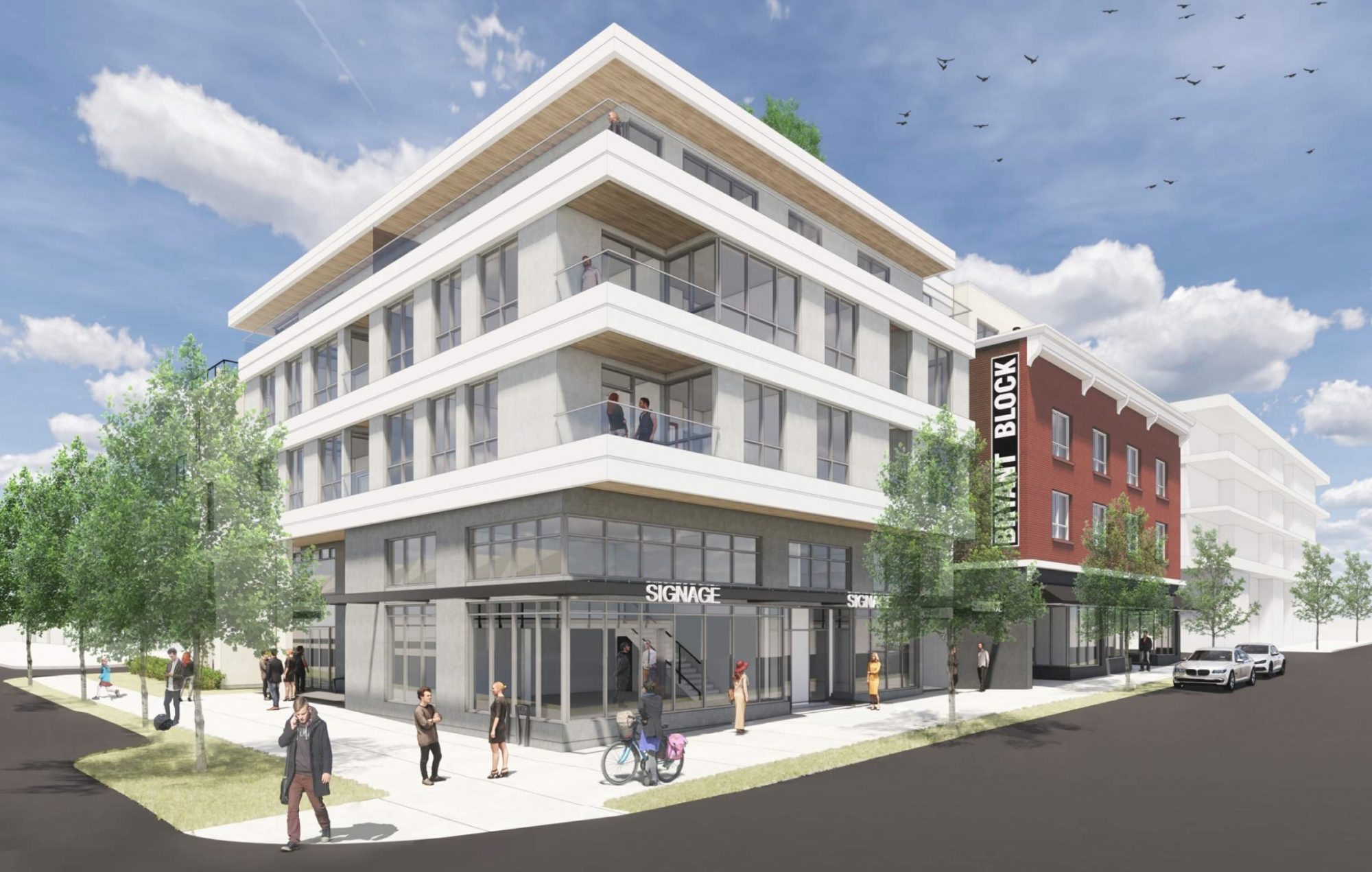 New Development In Vancouver On Main St And 19th Ave Rendering Of Building Design